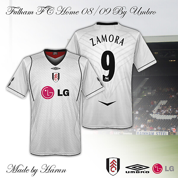 Fulham Umbro Home
