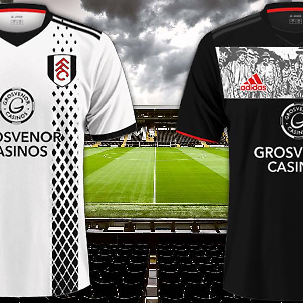 Fulham Fc / Adidas Kits