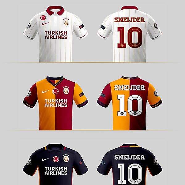 Galatasaray 15-16 Kit Designs