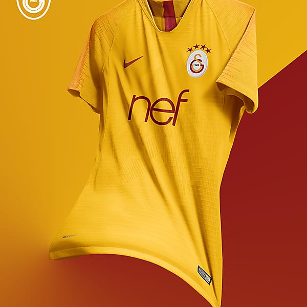 Galatasaray 2018/2019 3rd Kit Design