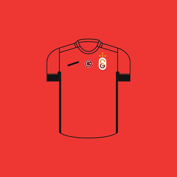 Galatasaray Away × Minimalist