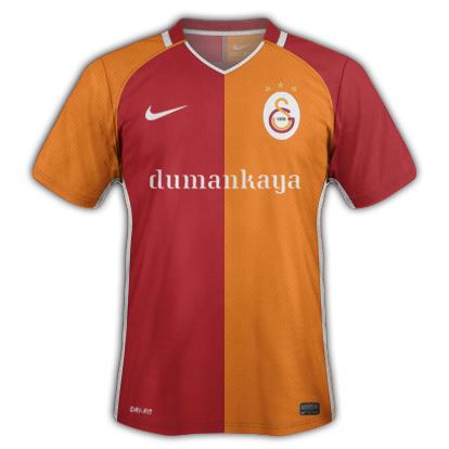Galatasaray S.K. 2016-17 Home Kit