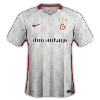 Galatasaray S.K. 2016-17 Third Kit