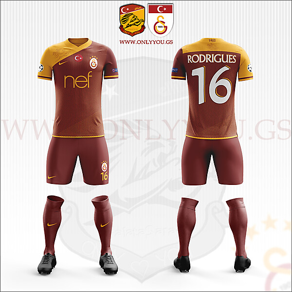 Galatasaray SK | 2017-2018 Home Kit