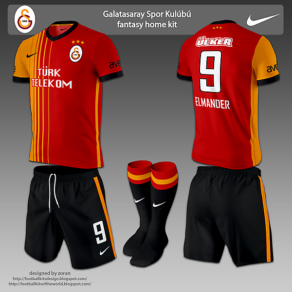 Galatasaray SK fantasy home & away