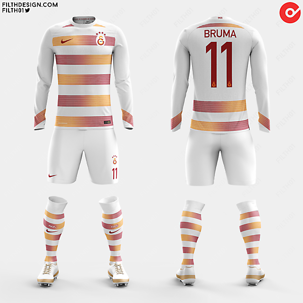 Galatasaray x Nike | Away Kit