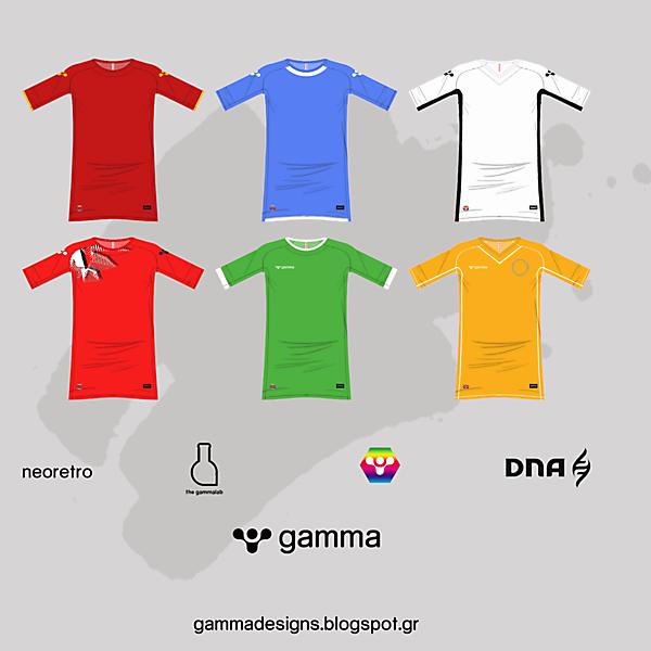 gamma 2016-17 templates