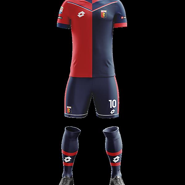 Genoa C.F.C Home Concept