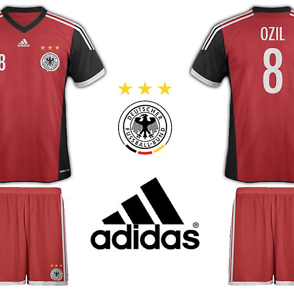 Germany Adidas Away Kit