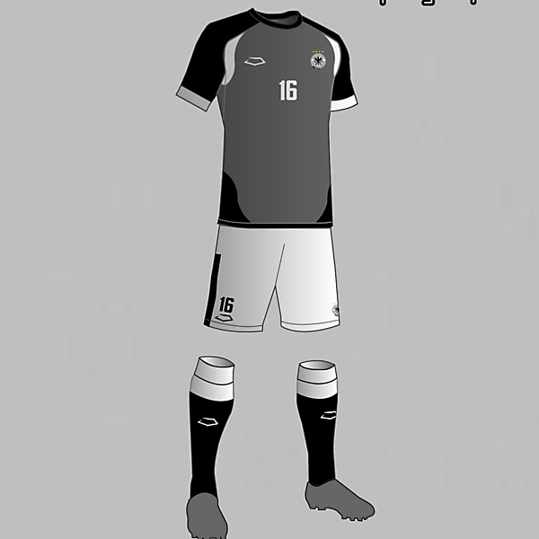 Germany National Football Team Third Kit 2016