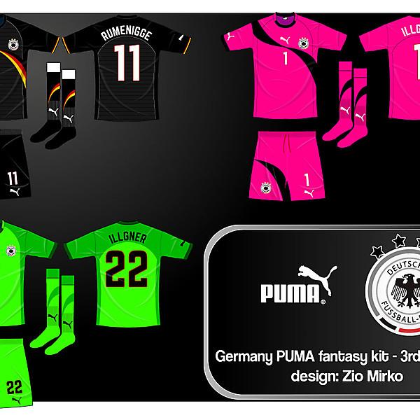 Germany PUMA fantasy kit - 3rd and keeper
