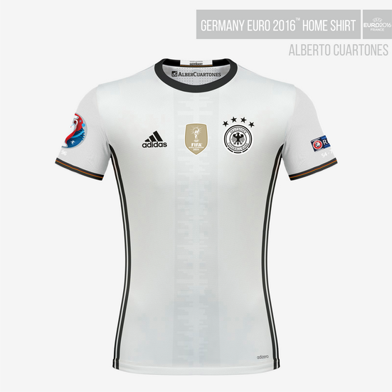 Germany UEFA EURO 2016™ Home Shirt
