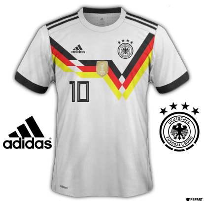 Germany World Cup Home Fantasy Kit