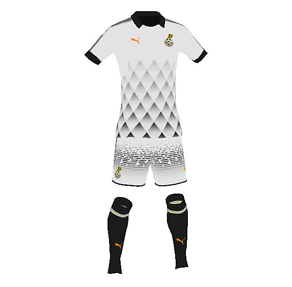 Ghana away concept kit