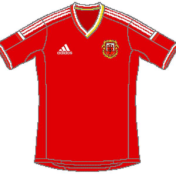 Gibraltar Adidas Home