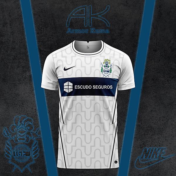 Gimnasia La Plata Nike Home Kit
