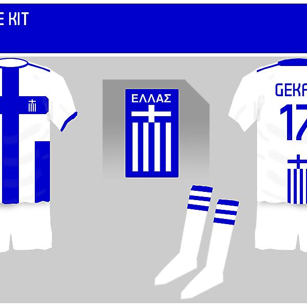 Greece 1st Kit