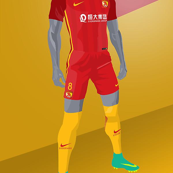 Guangzhou Evergrande x Nike Vapor - Concept kit
