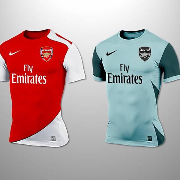 Arsenal Home and Away