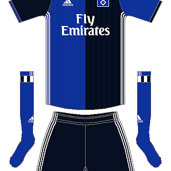 Hamburg SV Adidas Away Kit