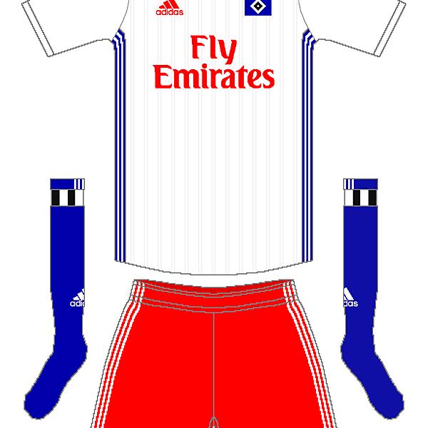 Hamburg SV Adidas Home Kit