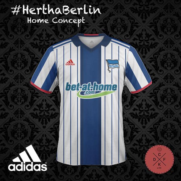 Hertha Home Adidas Concept