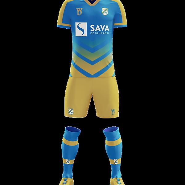 HNK Rijeka away kit