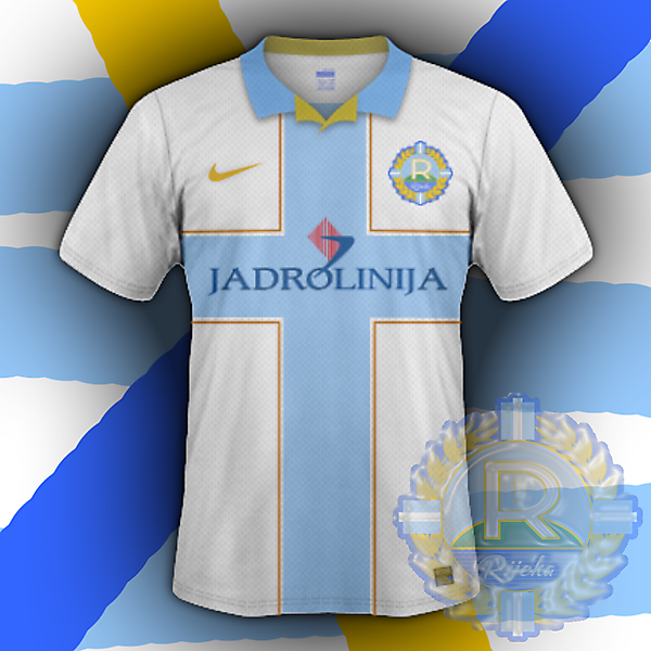 HNK Rijeka home (based on my crest redesign for CRCW)