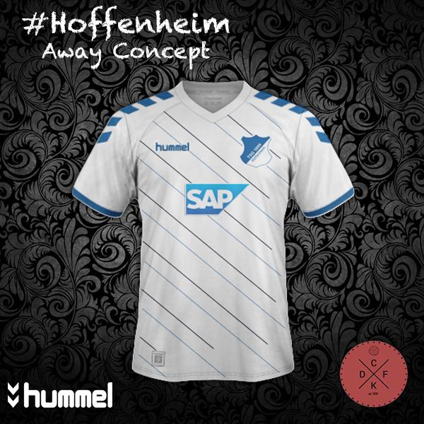 Hoffenheim Away Hummel Concept