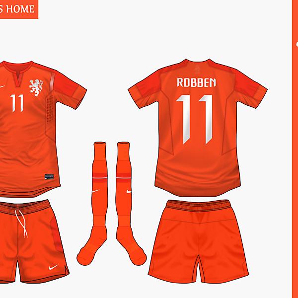 Holland Home Nike 2014