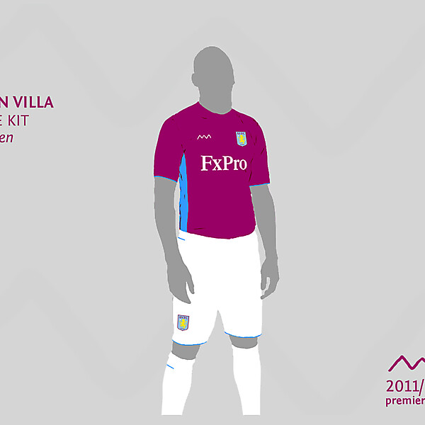 Aston Villa home by green