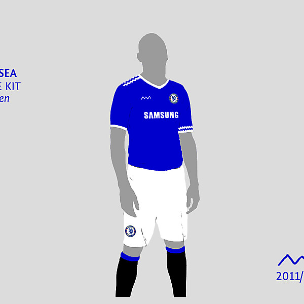 Chelsea home by green