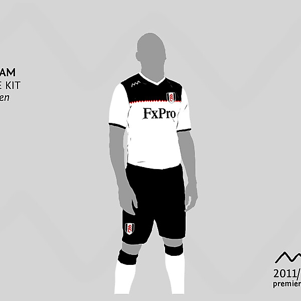 Fulham home by green