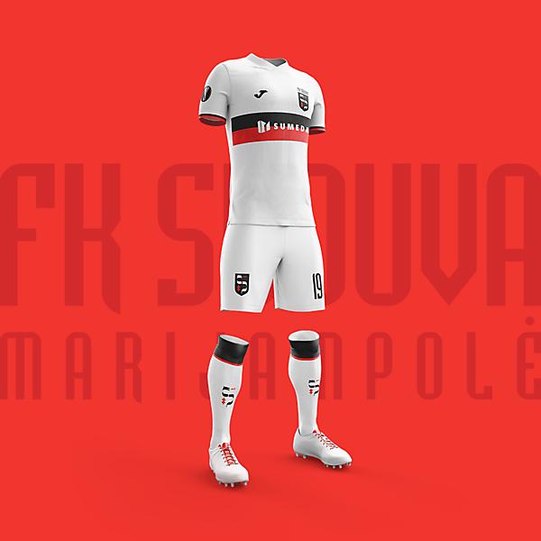 Home kit proposal   FK Sūduva