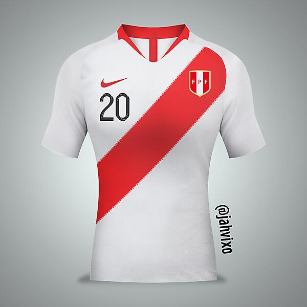Home Peru jersey by Nike