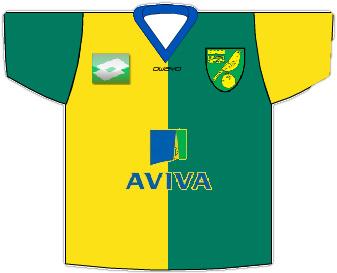 Norwich City 2013/14 Home Shirt