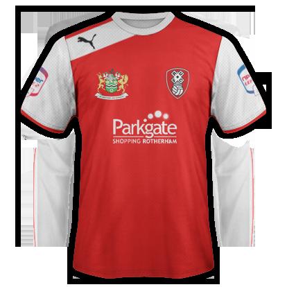 Rotherham United Home 2012-13