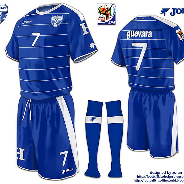 Honduras World Cup 2010 fantasy away