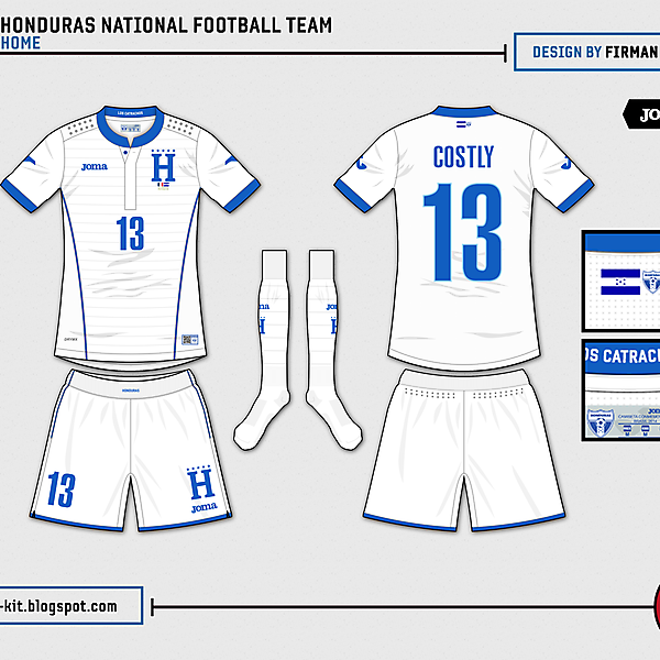 Honduras Home - World Cup Competition