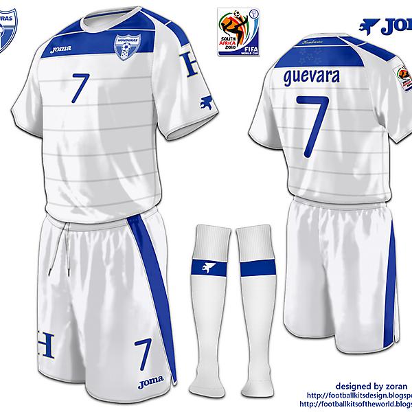 Honduras World Cup 2010 fantasy home