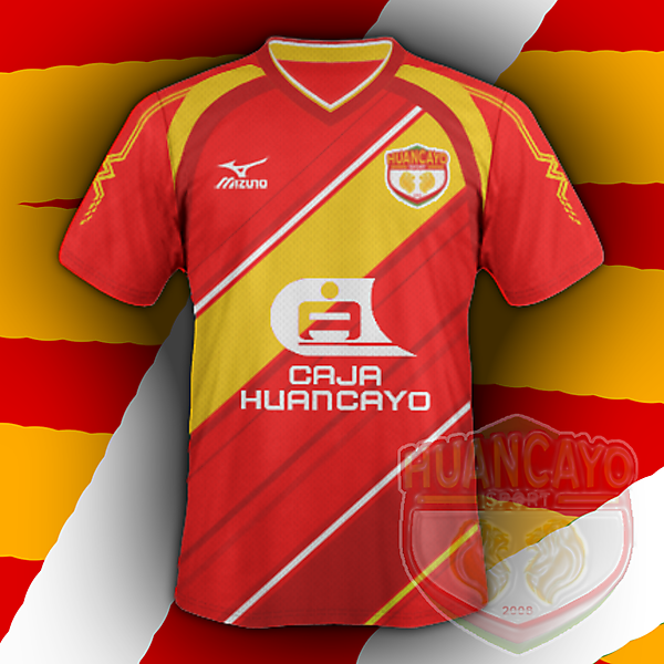 Huancayo Sport home (based on my crest redesign for CRCW)