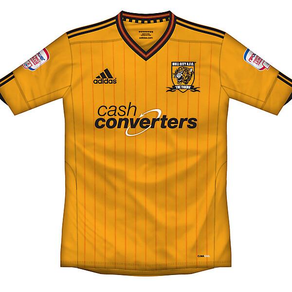 Hull City home shirt