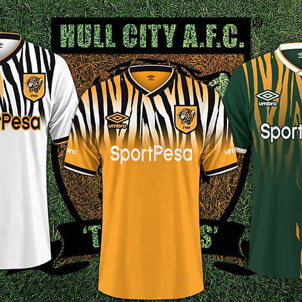 Hull City AFC / Umbro Kits
