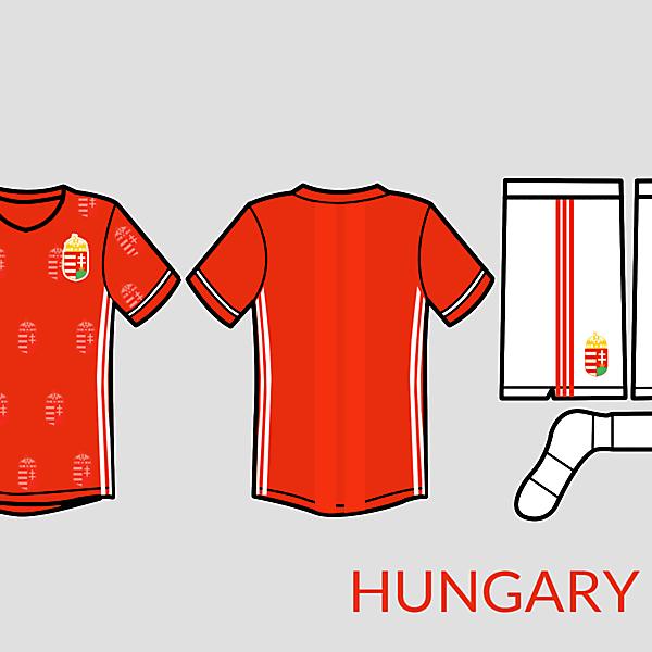 Hungary football kit 2016 adidas