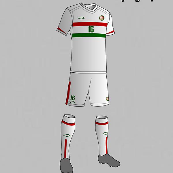 Hungary Nantional Football Team Away Kit 2016