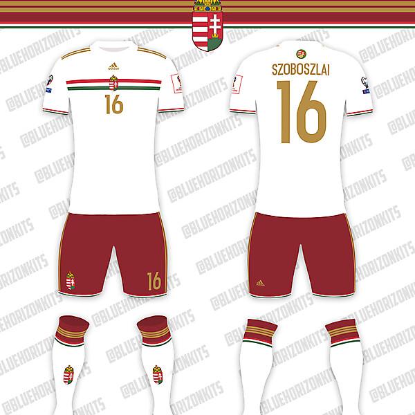 Hungary National Team Away Kit