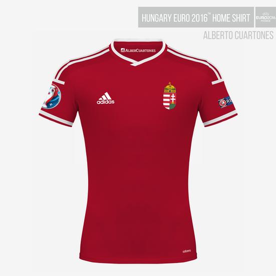 Hungary UEFA EURO 2016™ Home Shirt