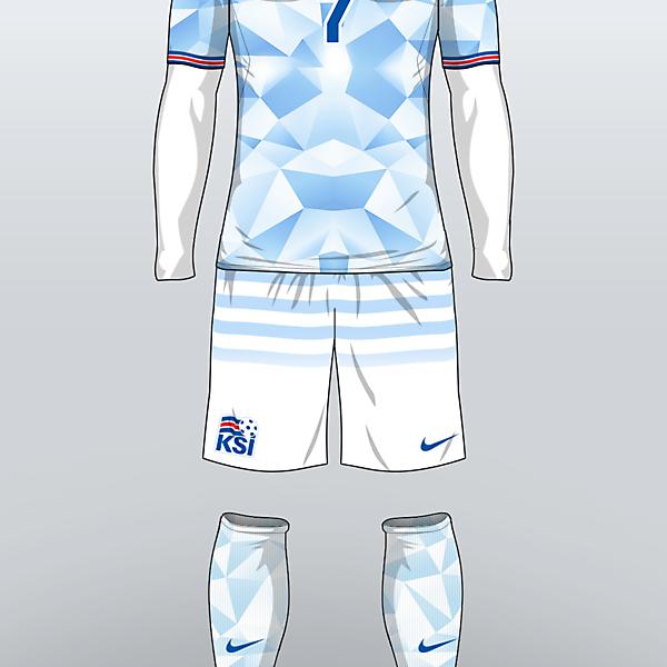 ICELAND - Away Kit 16/17 (concept)