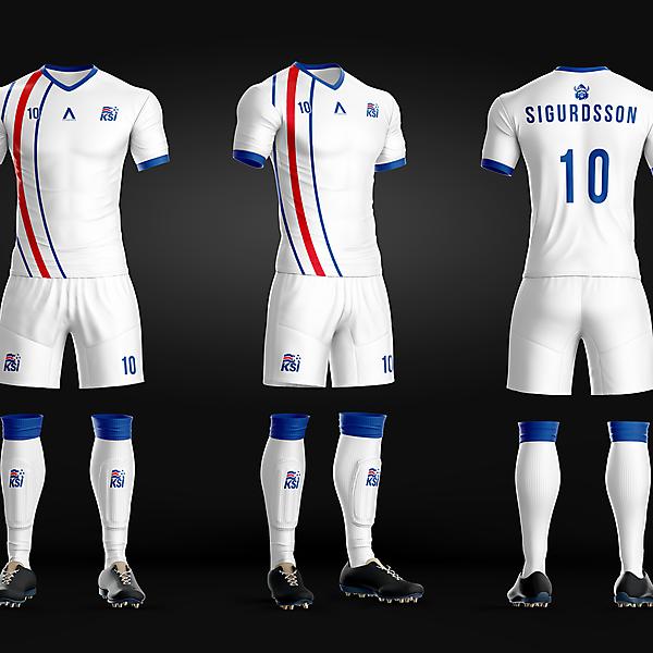 Iceland - Away kit