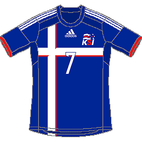 Iceland Adidas Home